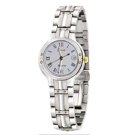 Reloj Jaguar Referencia J270/1 de señora, con Calendario, Caja y Cadena de Acero: Amazon.es: Relojes
