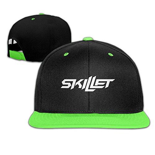 Awwwh Kid's Skillet White Logo Adjustable Baseball - Hat Skillet Band