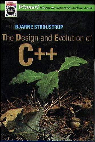 Design and Evolution of C++
