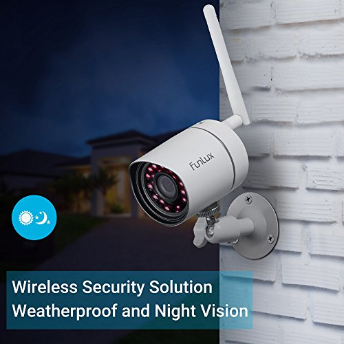 Funlux 720p Hd Outdoor Wireless Home Security Camera