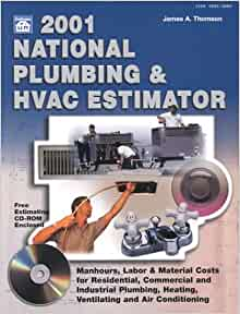 2001 national plumbing hvac estimator national plumbing and hvac estimator 2001 james a