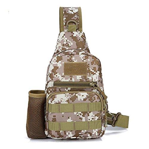 Paquete del bolso de la honda, bolso de hombro de los hombres Crossbody que camina la mochila del deporte del bolso de la mochila de la bicicleta de la escuela para acampar, completando un ciclo, viaj small flower pattern