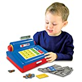 The Learning Journey Play & Learn – Cash Register – Preschool Toys & Gifts for Boys & Girls Ages 3 Years and Up – Award Winning Toy