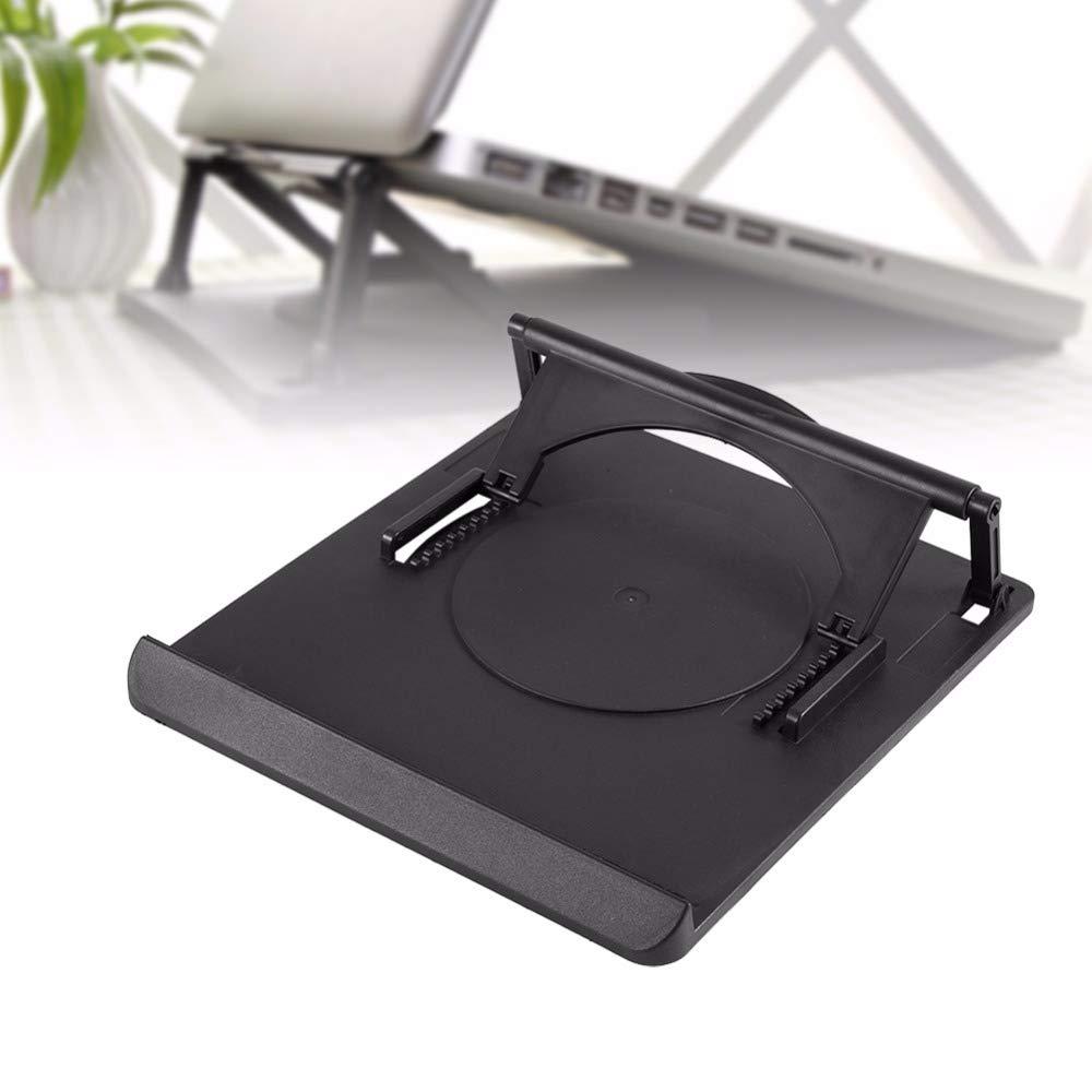 DHmart Adjustable Cooling Cooler Table Fan Stand Holder Notebook Laptop Universal Laptop Cooler Fan Holder Pad Notebook Stand