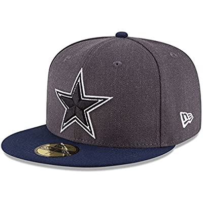 New Era 59Fifty Hat NFL Dallas Cowboys Shader Melt 2 Navy Blue Fitted Cap