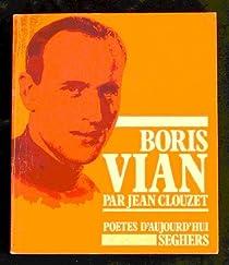 Boris Vian par Clouzet