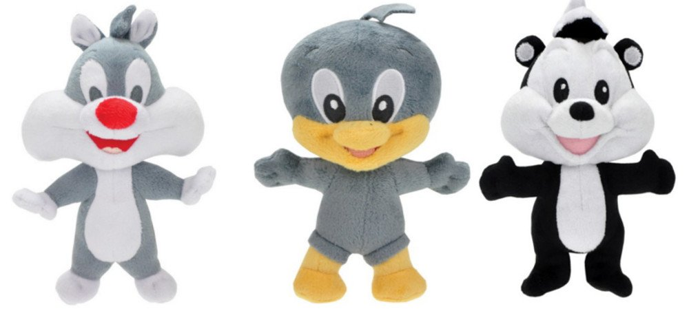 Baby Looney Tunes - Warner - Set de 3 Peluche 15 cm -923SET3: Amazon.es: Juguetes y juegos