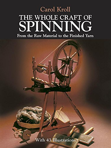Crimp Wheel - The Whole Craft of Spinning: From the Raw Material to the Finished Yarn