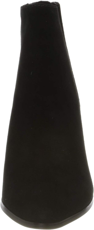 Steve Madden Jamesie Bootie, Bottines Femme Noir Black Suede 015