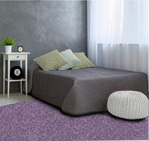 sheetsnthings 12PC California King Size Bliss Purple Bed in a Bag Including Comforter Set and a Sheet Set