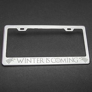 Amazon.com: Game Of Thrones Photo License Plate: Automotive