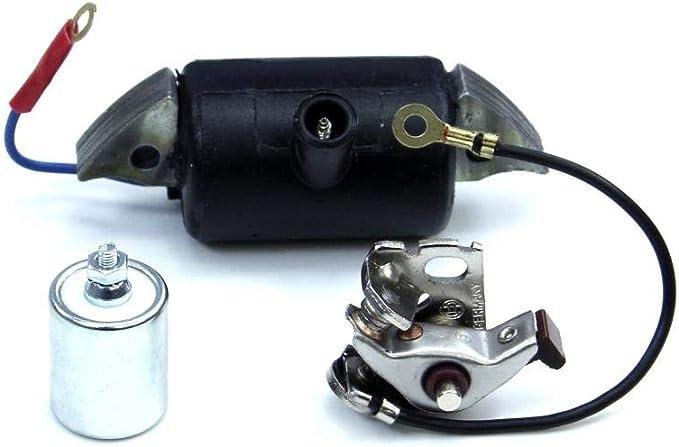 Zündspule Kondensator Zündkontakt Set Für Hercules Prima 2 3 4 5 S Mofa Kreidler Zündapp Puch Auto