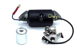 Hercules Mofa Prima 2 3 4 5 GT Unterbrecher und Kondensator Typ BOSCH Kontakt