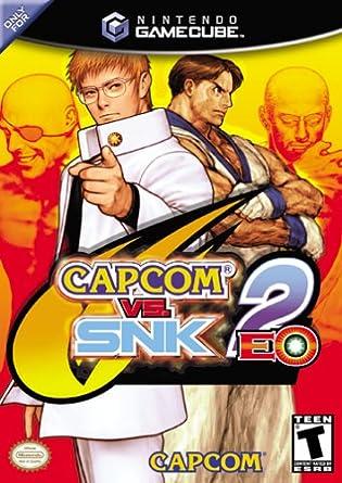 capcom vs snk 2 eo gamecube