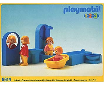 PLAYMOBIL 6614 Playmobil 123 Badezimmer (Alter 1 5)