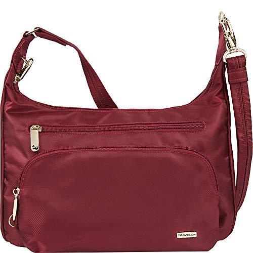 (Travelon Anti-Theft Front Pocket Crossbody Bag with RFID)