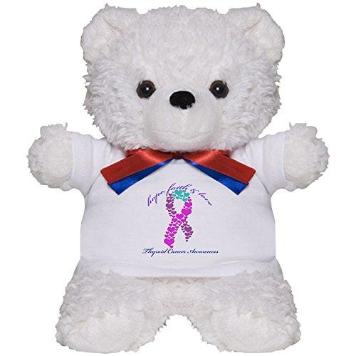 Faith Teddy Bear - CafePress - Thyroid Hope Faith and Love - Teddy Bear, Plush Stuffed Animal