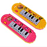 Clearance/BESTOPPEN Musical Toys for Kids Children,Baby Musical Instrument Toys Touch Play Keyboard Music Piano Toy Educational Development Lovely Funny Early Gift Toys for Toddler Nephew (random)
