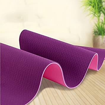 YROAR Yoga mats Yoga Mat TPE Anti-Slip Beginners Female ...