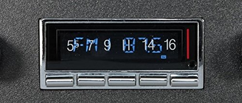 Custom Autosound Bluetooth Stereo compatible with 1968-1969 Ford Torino AUX Inputs USA-740 300 watt AM FM Car Stereo//Radio with built-in Bluetooth Color Change LCD Digital Display # CAM-LM-64//6-740