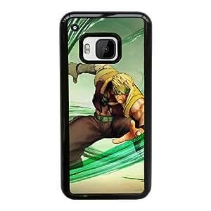 Street Fighter V G3F2Fb HTC uno M9 funda caja del teléfono celular Negro B8U8FR Volver Funda caso único