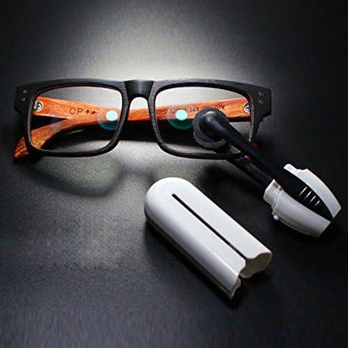 2pcs Nettoyant pour lunettes portable Portable CarbonKlean Peeps Injected Lunettes Lunettes de soleil Cleaner Lunettes presbytes