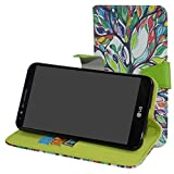LG Stylo 3 / Stylo 3 Plus / LG Stylus 3 2017 Case,Mama Mouth [Stand View] Premium PU Leather [Wallet Case] With Card / Cash Slots Cover For LG Stylus 3/LG Stylo 3/LS777 Smartphone,Love Tree