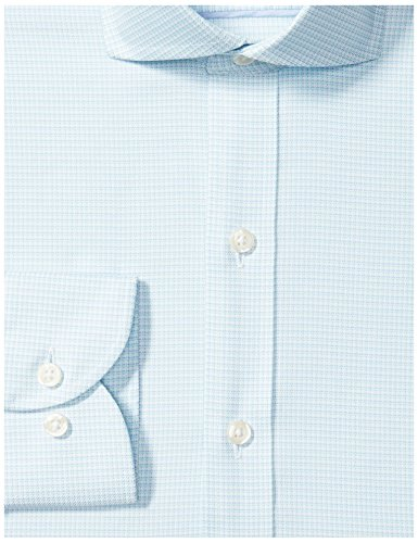 512314b0 Buttoned Down Men's Slim Fit Cutaway-Collar Pattern Non-Iron Dress Shirt  Without Pocket