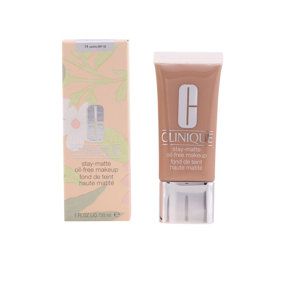 Clinique Stay Matte Oil-Free Makeup Kit, Vanilla (MF-G), 1 Ounce