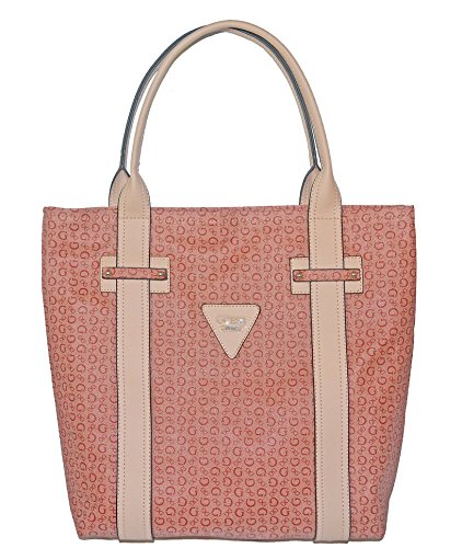 GUESS Signature Bright Candy Large Tote Bag Handbag Purse - Outlet Online Guess Shopping
