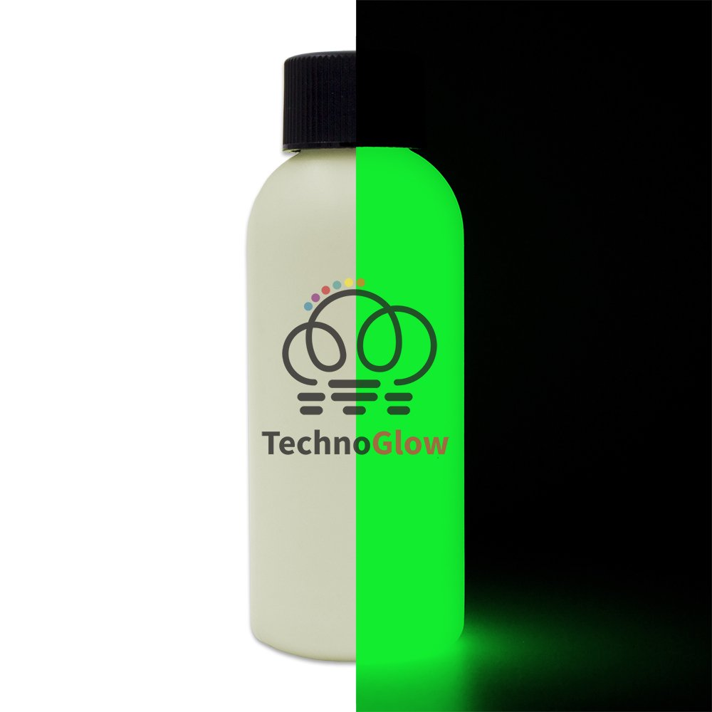 Glow in The Dark Paint, Green Ultra Glow - Multiple Colors - 1 Quart