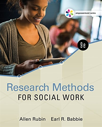 Empowerment Series: Research Methods for Social Work (Social Welfare Policy And Social Programs 4th Edition)