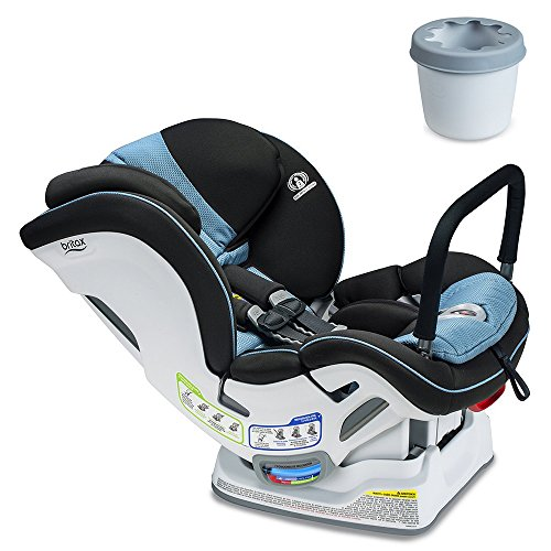 - Britax Boulevard ClickTight ARB Convertible Car Seat, Poole with Cupholder Set
