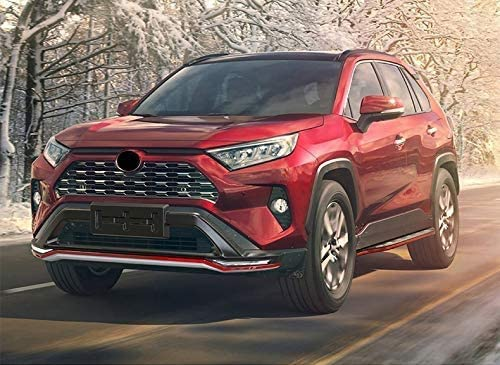 2 Pieces Fit for to-yo-ta RAV4 2019 2020 2021 Running Boards Side Step Bar Unique Style