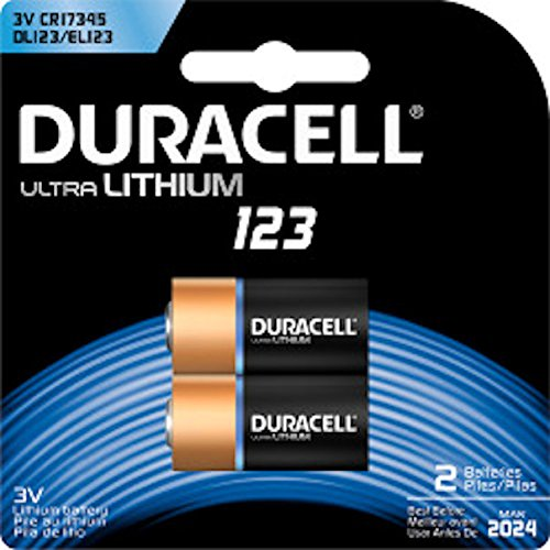 Duracell(R) 3-Volt Photo Batteries, Pack Of 2 -