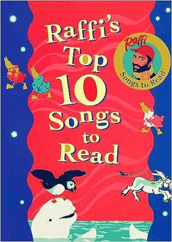 Raffis Top Ten Songs to Read: Anthology