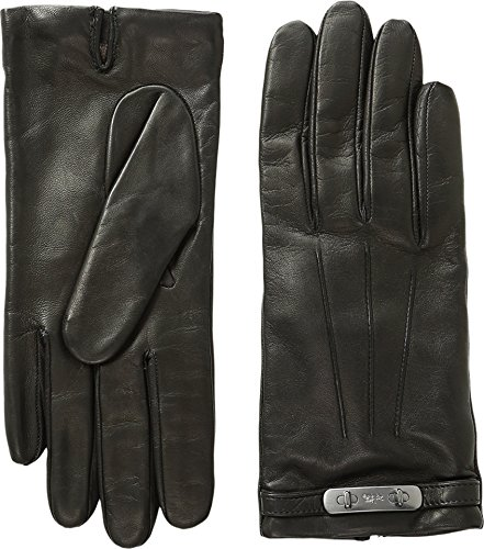 COACH Womens Swagger Gloves Black