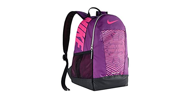 Amazon.com  Nike New Young Athletes  Max Air Team Training SM Backpack Bold  Berry Black Pink Pow  Shoes 7820f2eb5abd3