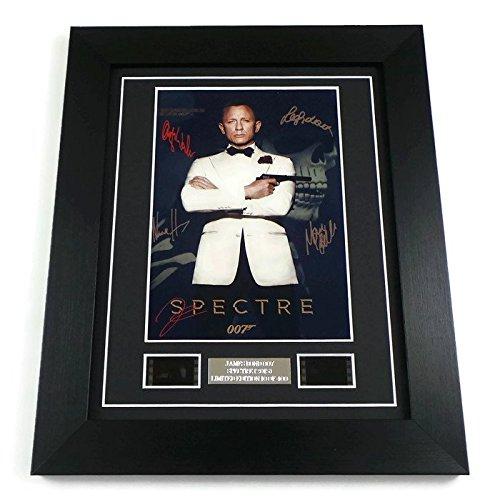 James Bond Spectre Movie Memorabilia Film Cell Framed