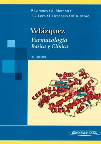 Descargar Libro Velázquez. Farmacología Básica Y Clínica. Pedro Lorenzo Fernández