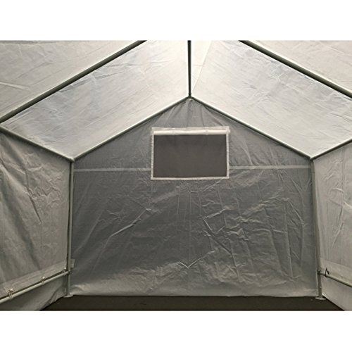 51DXX F%2B49L - King Canopy GH1010 10-Feet by 10-Feet Fully Enclosed Greenhouse, Clear