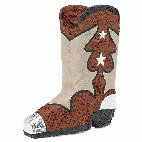 Shindigz Western Boot Pinata]()