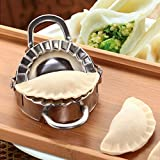 LtrottedJ Eco-Friendly Pastry Tools Stainless Steel Dumpling Maker Wraper Dough Cutter
