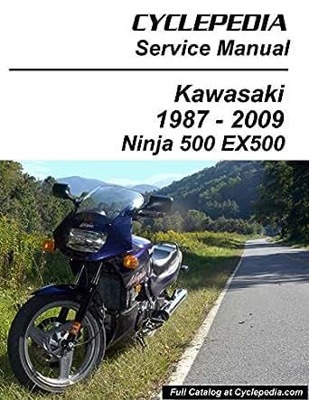 1987-2009 Kawasaki EX500 GPZ500S/Ninja 500 Service Manual