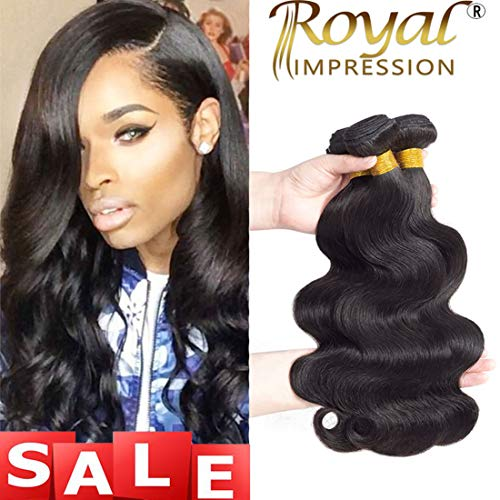 10A Brazilian Virgin Hair Body Wave 3 Bundles 10