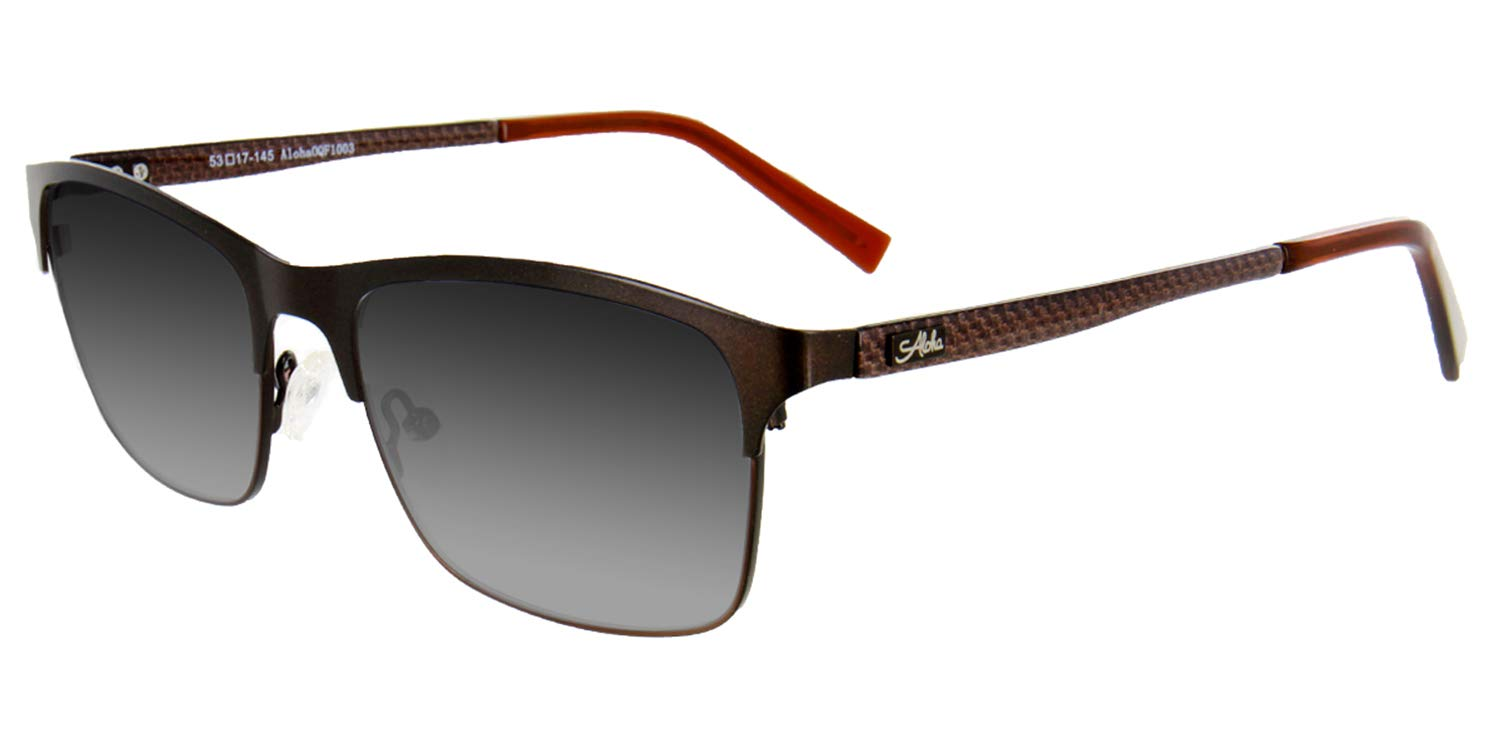 8b97a74f0925 Amazon.com  Aloha Eyewear ÒTek Spex 1003Ó Men s Polarized Progressive  Bifocal Reader Sunglasses (Bronze Polarized +2.50)  Health   Personal Care