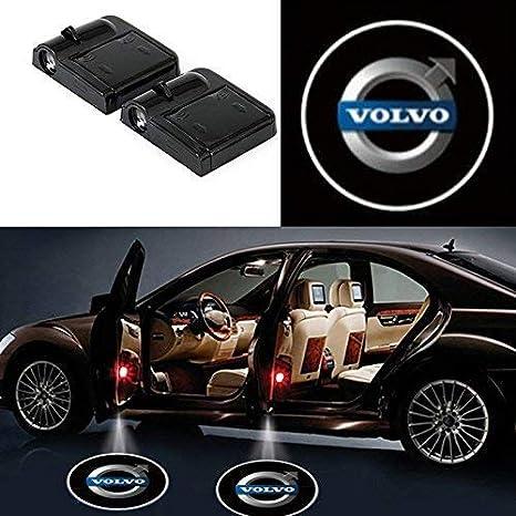 2 luci a LED senza fili per portiera dell/'auto luci di cortesia