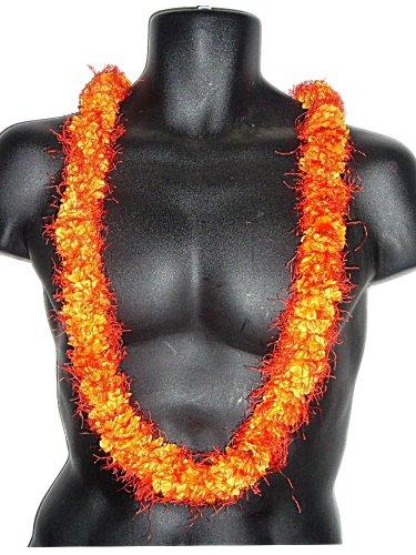HAWAIIAN OHA'I ALI'I LEI ORANGE SILK (Aloha Leis)