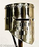 Medieval Knight Helmet - re-enactment / larp / role-play / fancy-dress