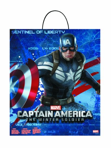 [Disguise Marvel Captain America The Winter Soldier Movie 2 Treat Bag] (Captain America Movie Treat Bag)